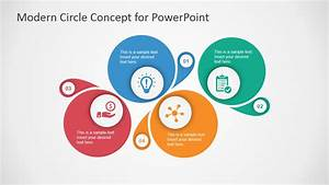 Modern Circle Diagram Template For Powerpoint