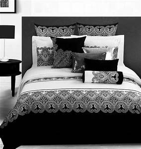 King Size Bettdecke : 3d jahrgang schwarz wei paisley bettw sche tr ster setzt queen size tagesdecke bettdecke ~ Indierocktalk.com Haus und Dekorationen