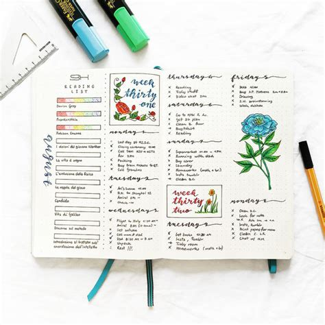 bullet journal   organize  entire life