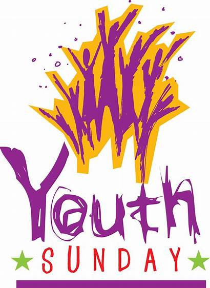Youth Church Sunday Clipart Christian African American