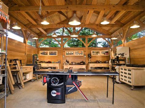 timber frame building     workshop