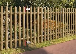 Holz Und Raum : gartenzaun holz zaun senkrechtzaun kdi braun 250 x 80 cm ~ A.2002-acura-tl-radio.info Haus und Dekorationen