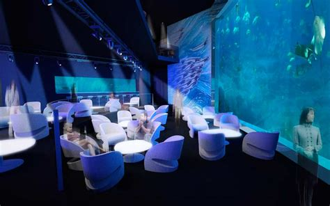 l aquarium de club restaurant ozu mathilde de l ecotais designer directrice artistique