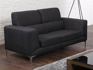 2 Sitzer Sofa Günstig : 2 sitzer sofa stoff musta g nstig vente ~ Frokenaadalensverden.com Haus und Dekorationen
