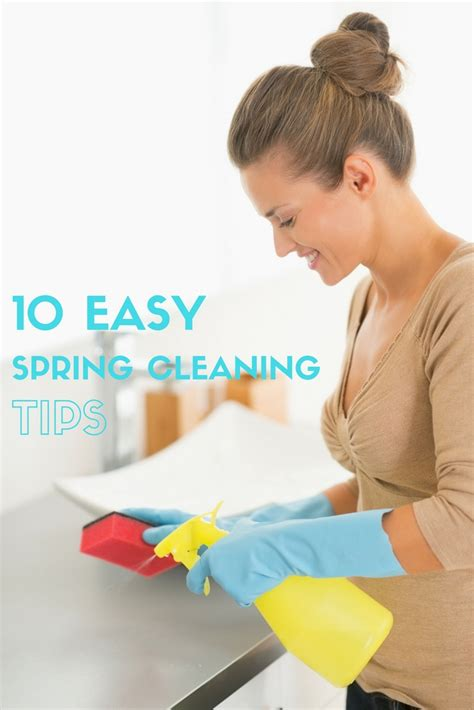 10 Easy Spring Cleaning Tips & A Spring Cleaning Challenge