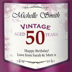 1000 images about graphic wine retro labels on pinterest for 50th birthday wine label templates