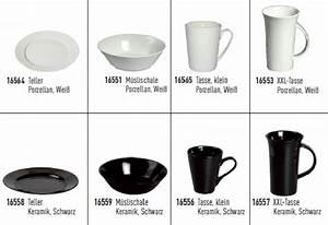Teller Schwarz Weiß : porzellan keramikgeschirr tasse teller schale wei schwarz ~ Markanthonyermac.com Haus und Dekorationen