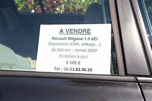 Pour Vendre Une Voiture : affiche vente voiture occasion voiture d 39 occasion ~ Gottalentnigeria.com Avis de Voitures