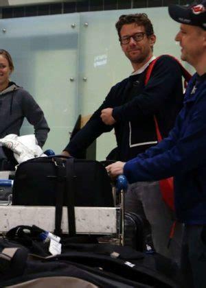 Angelique Kerber - Arrives at Perth International Airport