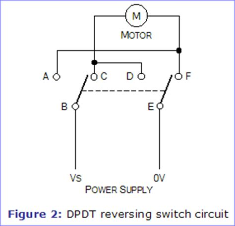 Dc Motor Switch Wiring Diagram by Switches Dc Motor Reversing Relays Using A Micro Switch