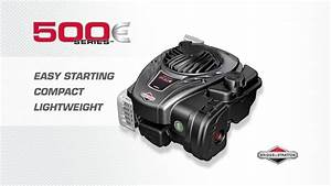 Introducing The Briggs  U0026 Stratton 500e Series Engine