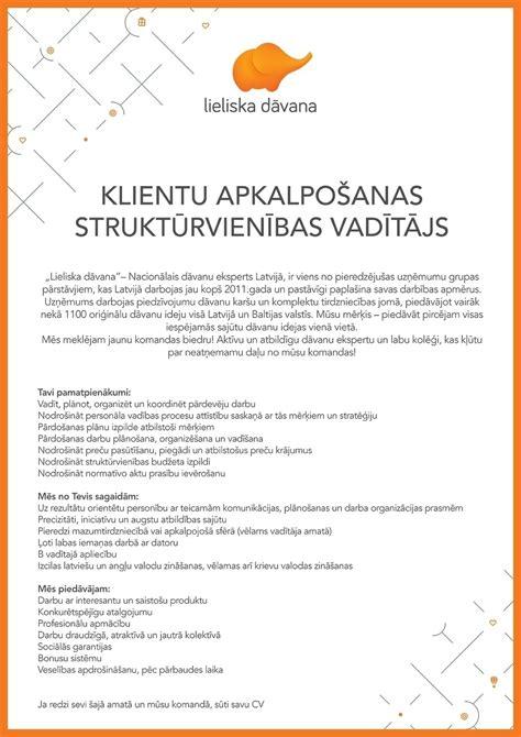 Darba piedāvājumi - Darbs - CV Market vakance Klientu ...