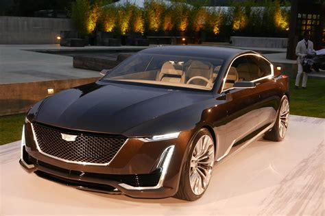 cadillac escala debuts  pebble beach automobile magazine