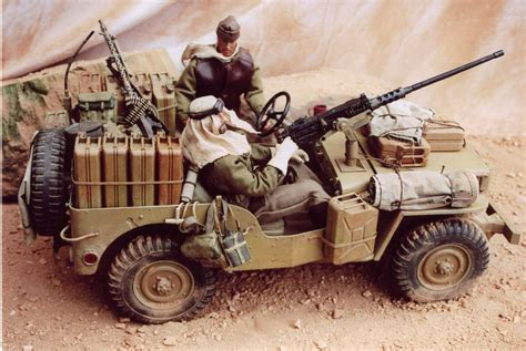lrdg jeep long range desert group modelers section