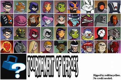 Gamecube Sheet Titans Teen Character Select Spriters
