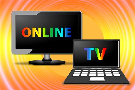 tv and computer free illustration watch tv online tv laptop free