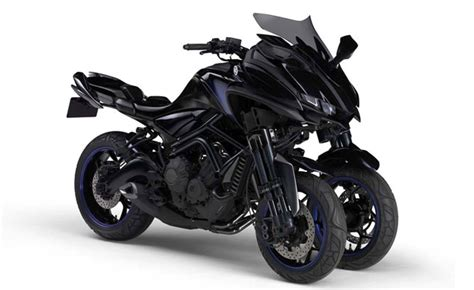 Three Cylinders + Three Wheels = Yamaha Mwt-9 Concept