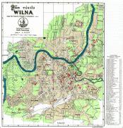 Ģeogrāfiskā karte - Viļņa (Vilnius) - MAP[N]ALL.COM