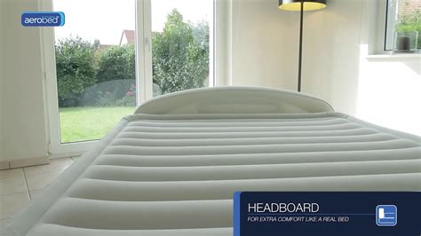 Aerobed® Comfort Classic Raised King With Headboard