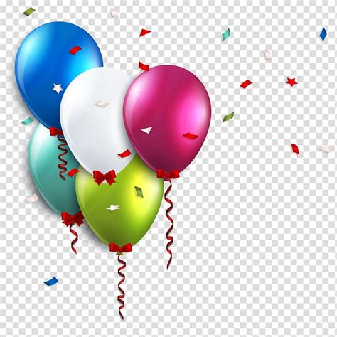 assorted color balloons birthday