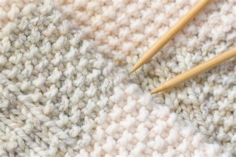 easy heirloom knit blanket pattern in a stitch