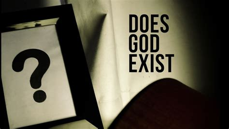 Does God Exist? - YouTube