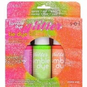 Neon Glitter Tie Dye Kit
