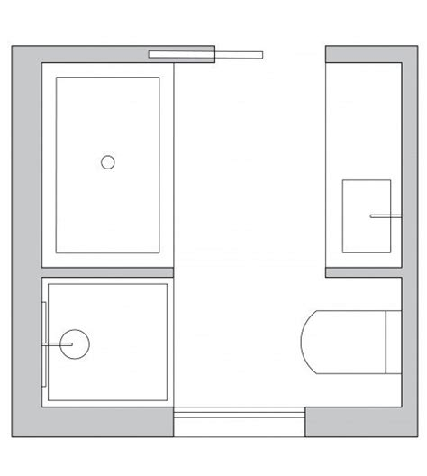 Square Bathroom Layout Ideas by Small Bathroom Layout Ideas From An Architect To Optimize