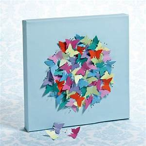 Butterfly canvas diy how to