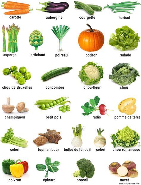 cuisine des legumes imagier à imprimer les légumes alimentation en