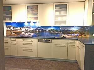 Küchenrückwand Kunststoff Motiv : panoramafoto k chenr ckwand aus glas ~ Buech-reservation.com Haus und Dekorationen