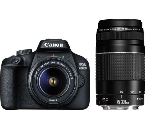 Buy Canon Eos 4000d Dslr Camera With Efs 1588 Mm F355