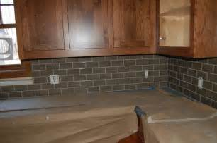 kitchen backsplash tile ideas subway glass grey glass subway tile backsplash home design ideas