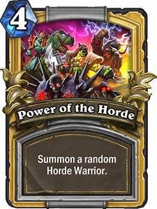 Image BlizzCon Power Of The Hordepng Hearthstone