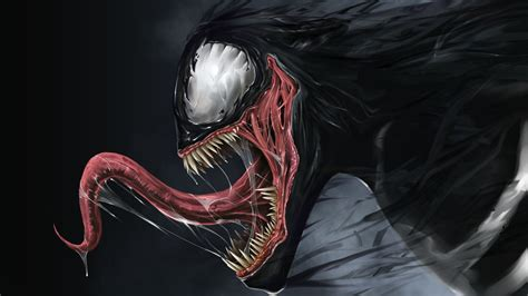 Artwork, Venom, Marvel Comics, Spider Man Wallpapers Hd