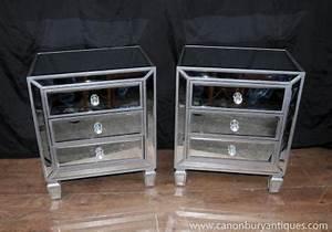 Table De Nuit Miroir : meubles miroir archives page 2 of 7 antiquites canonbury ~ Teatrodelosmanantiales.com Idées de Décoration