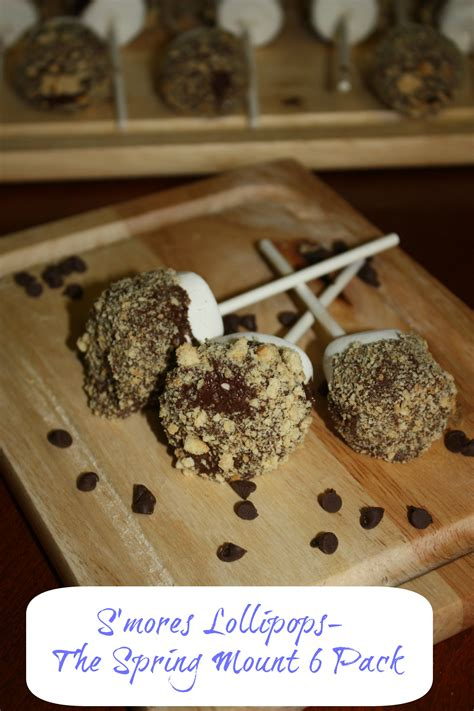 s mores recipes s mores lollipops recipe the spring mount 6 pack