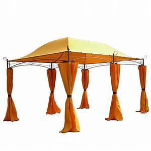 Gartenpavillon Metall 3x4 : pavillon 3x4 m metall gartenpavillon festzelt dach zelt garten wasserfest garten ebay ~ Whattoseeinmadrid.com Haus und Dekorationen