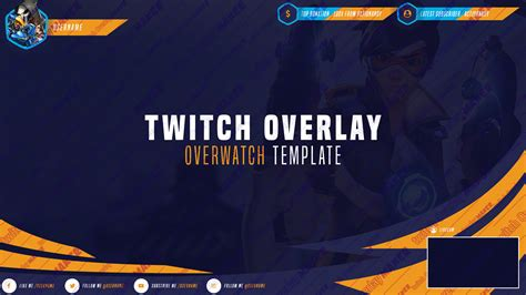 Twitch Template Premium Twitch Overlay Templates Own3d Tv