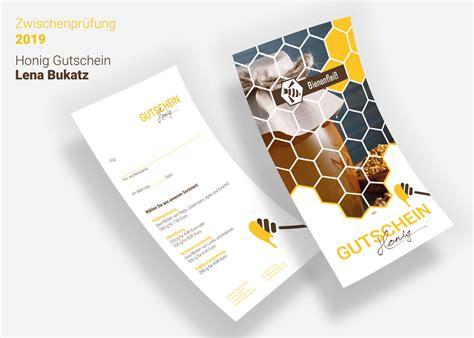 Meine Zwischenprüfung April 2019 - Mediengestaltung Print - Lenas Werbung