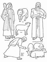 Shepherd Coloring Pages Jesus Shepherds Sheep Flannel Bible Lds Board Christ Story Stories Lost Am Shepard Clip Clipart He Friend sketch template