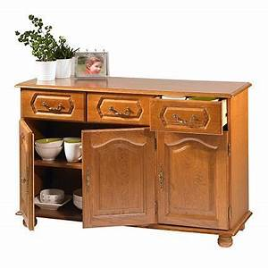 buffet bas chene 3 portes 3 tiroirs achat vente buffet With beautiful meuble bas de cuisine 120 cm 10 buffet bas chene 3 portes 3 tiroirs beaux meubles pas chers