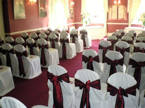 chair covers balloons wedding and decoration
