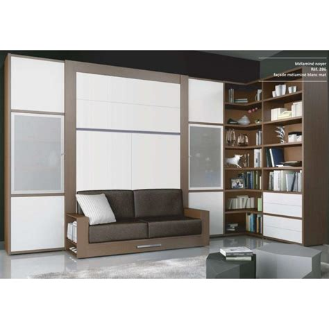 lit escamotable canap meuble lit canape escamotable
