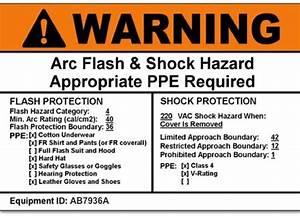 category arc flash hazard analysis With arc flash label printing service