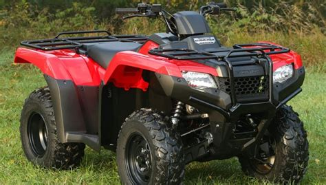 2015 Honda Atv / Four Wheeler Model Lineup
