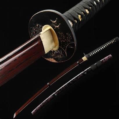 Katana Samurai Japanese Swords Blade Handmade Printed