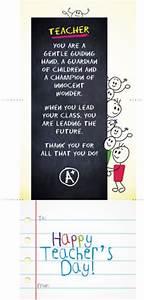 Teachers day greeting ideas on Pinterest