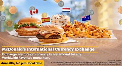 Menu International Favorites Worldwide Foreign Mcdonald Mcdonalds