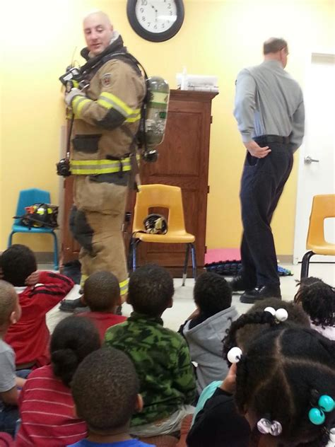 Community Helpers  Firefighter Visit  Early Steps